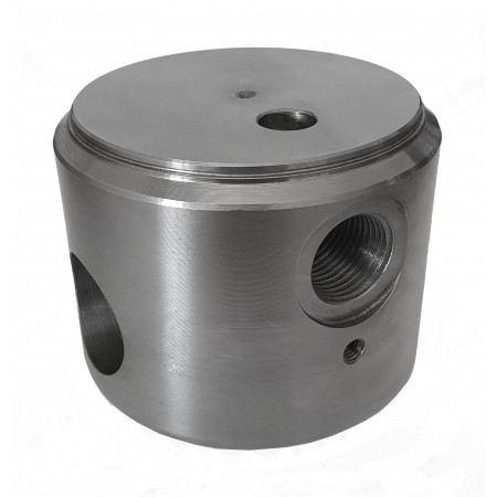 FCF - END PLUG WITH HOLE AND OIL ENTRY